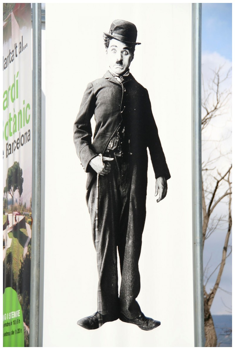 Benvingut a Barcelona Mr Chaplin