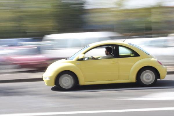 Yellow New Beetle