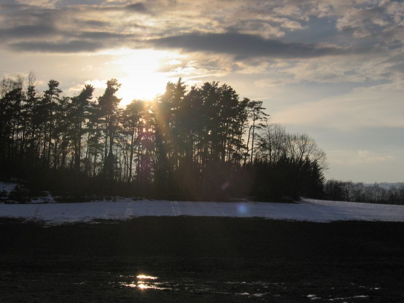 Reflet de soleil