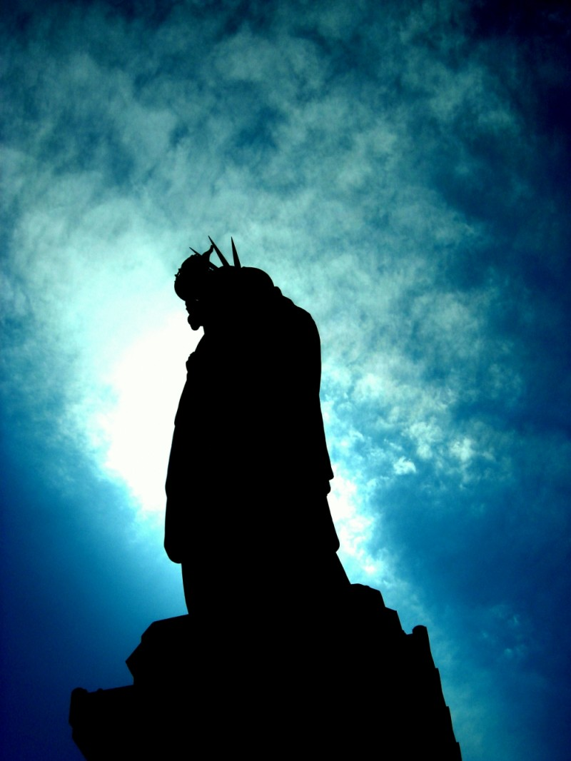 Silhouette of Liberty