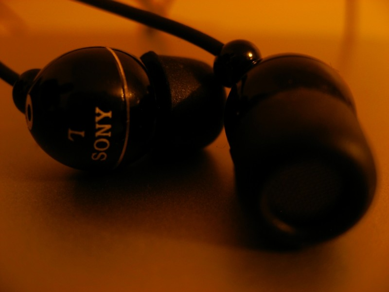 My new earphones