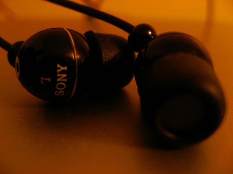 My new earphones