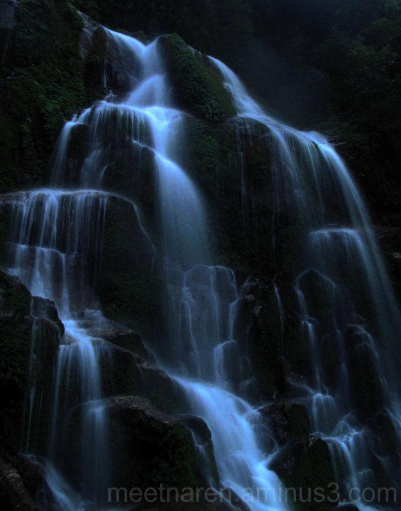 Gangtok trip - Waterfall