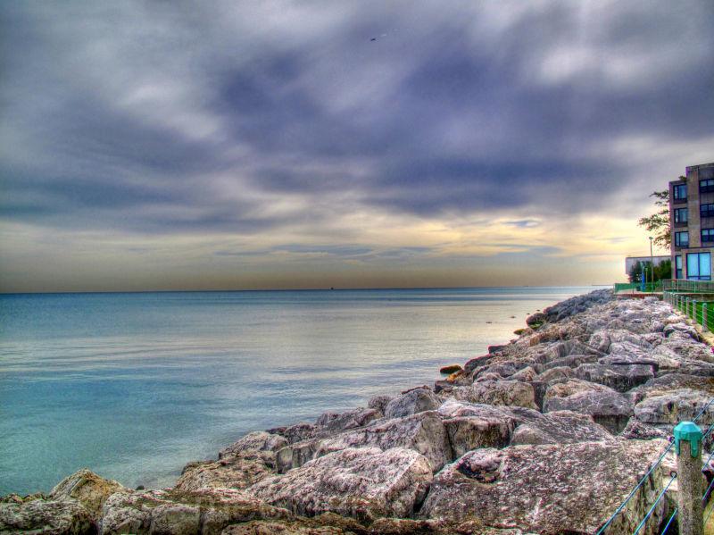 Lake Michigan - From Loyola