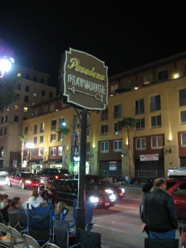 Pasadena Playhouse Sign