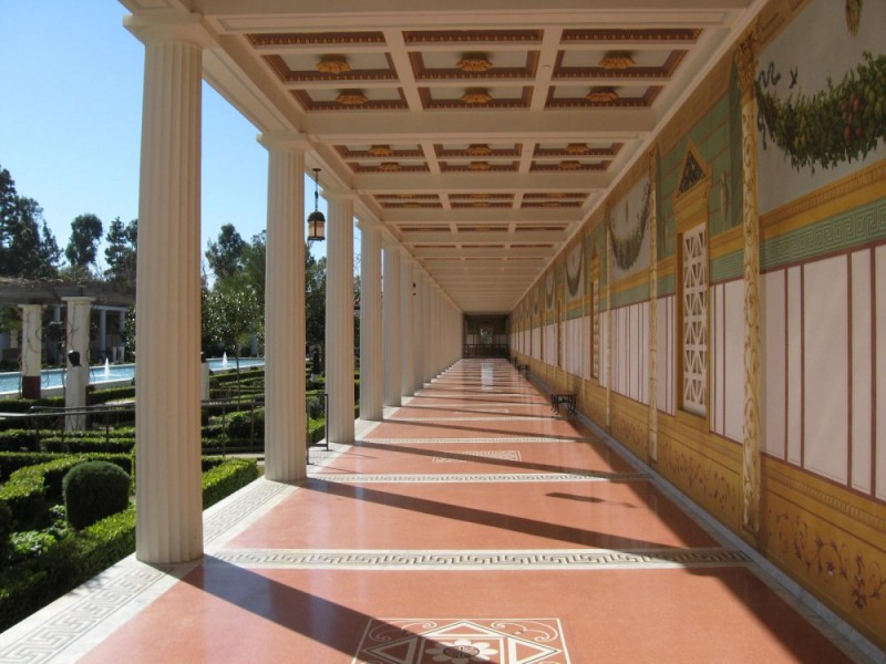 Getty Villa's Garden