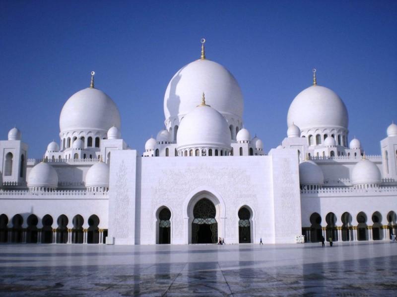 Masjid, Mosque, Abu Dhabi, UAE