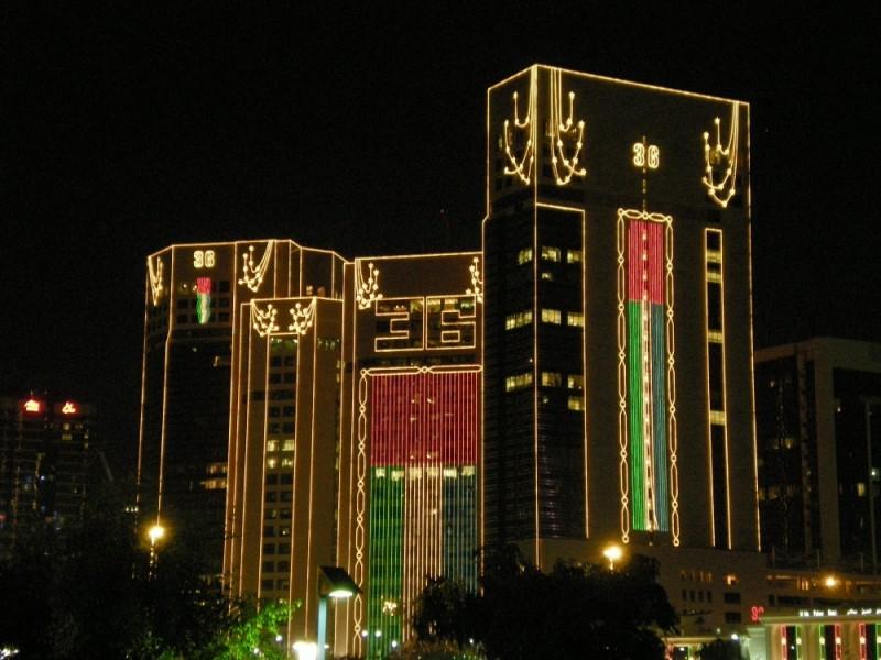 Abu Dhabi, Building, UAE