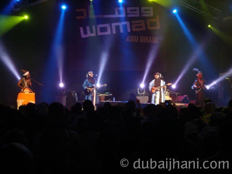 Womad Abu Dhabi, Etran Finatawa