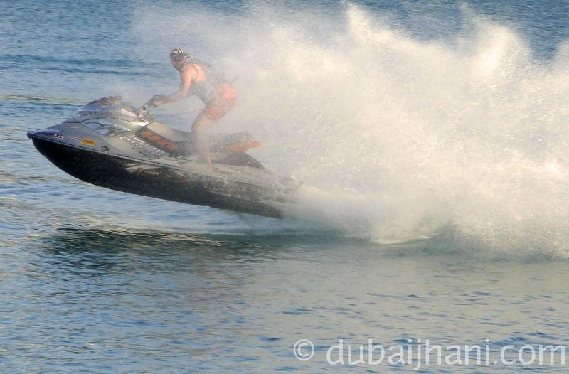 Abu Dhabi, Water bike