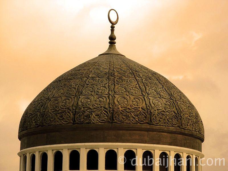 Mosque Dome, Abu Dhabi