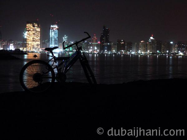 Abu Dhabi Night view