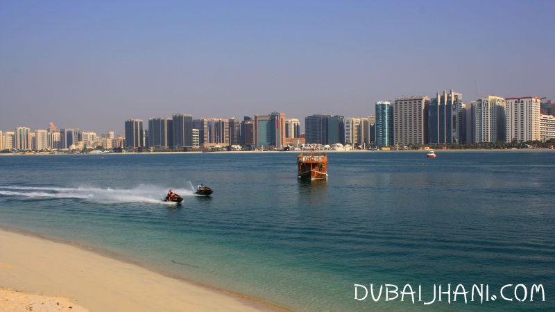 Abu Dhabi, Abu Dhabi City view