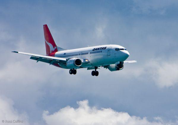 qantas wlg wellington boeing 737 b737