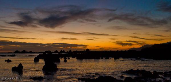 "sunset ""Moa Point"" Wellington coast"