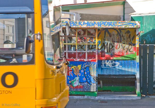 Berhampore bus stop