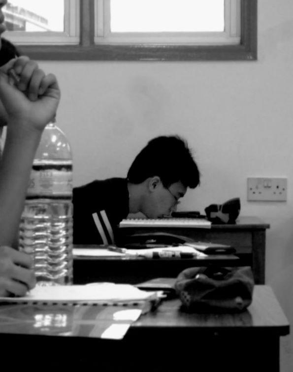 Sleeping In Class