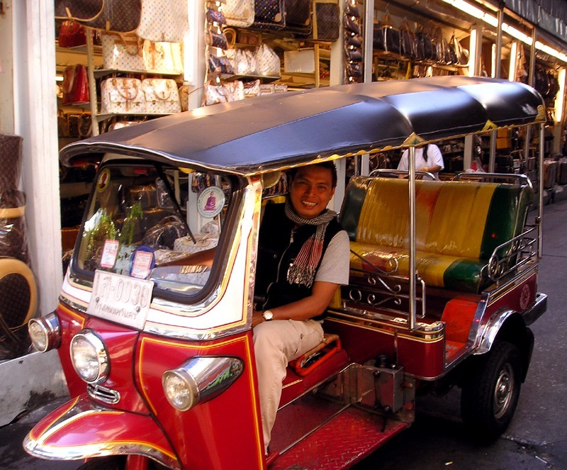 Tuk tuk taxi - Thailand