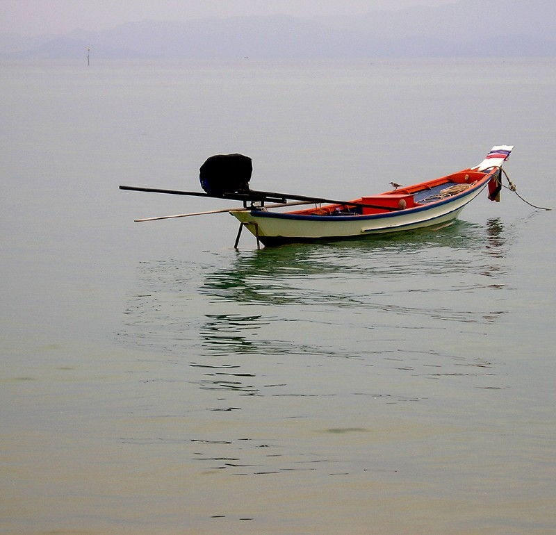Long-tailed boat - Koh Phangan, Thailand