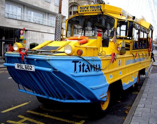 Titania - A London Duck amphibious vehicle