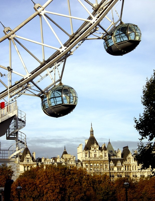 London Eye cabins