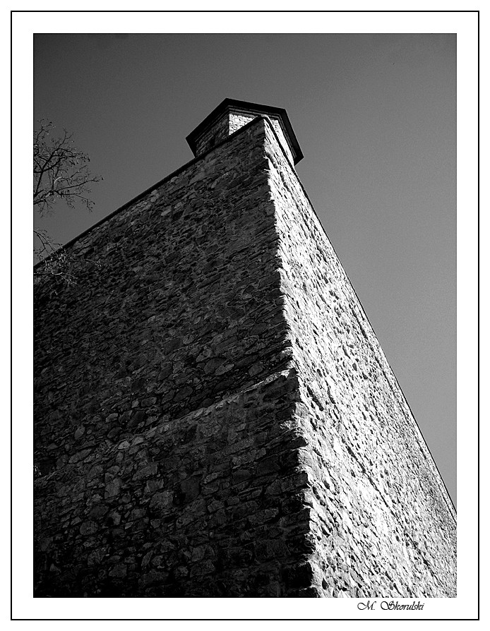 Wall - Bratislava Castle, Slovakia