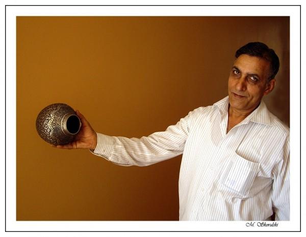 Handicraft hand grenade