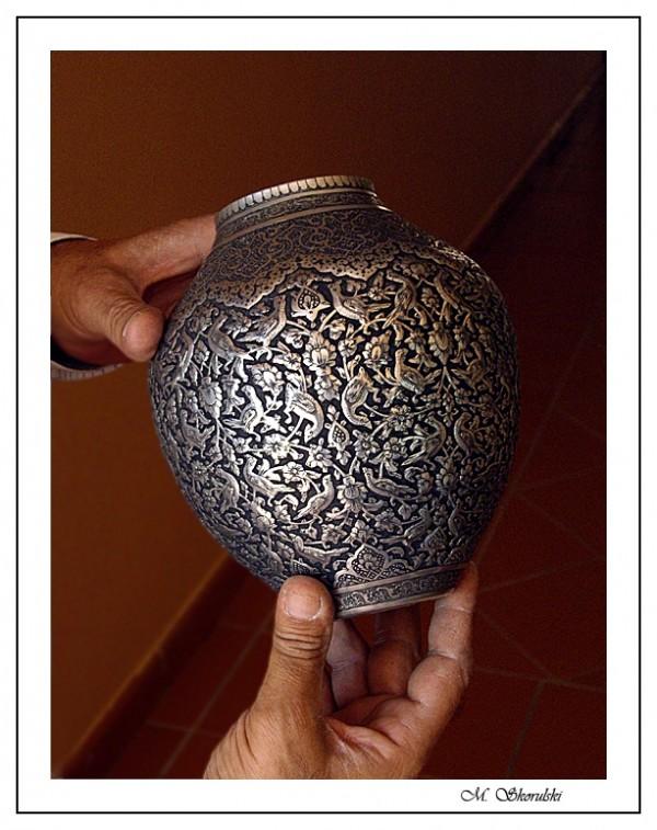 Persian pot