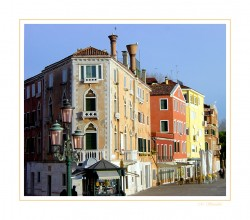 Seafront of Venice, Italy