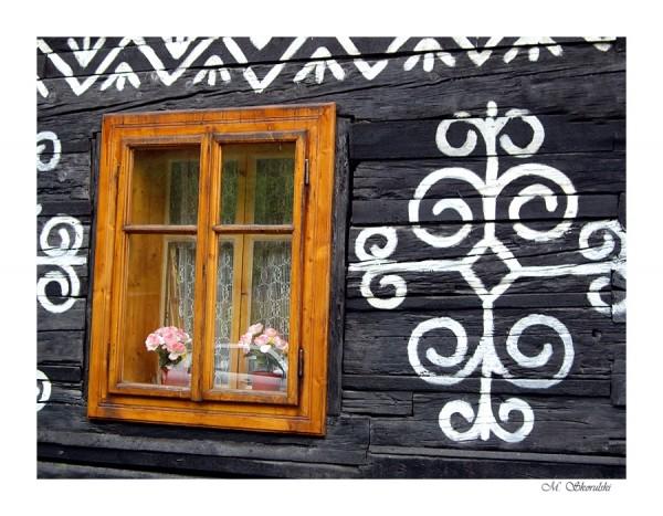 Window - Čičmany, Slovakia