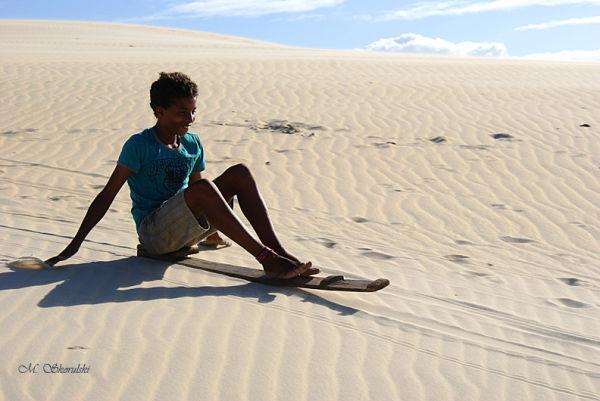 Sand sledding II - Maracajau, Brazil