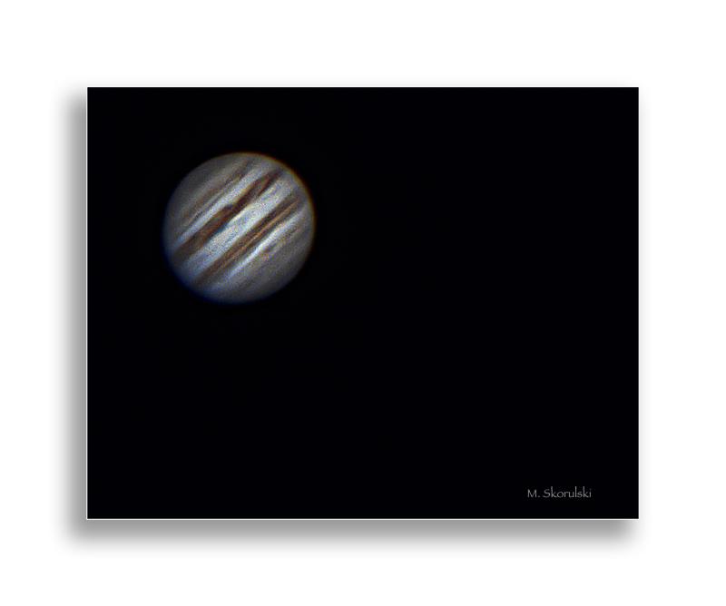 Jupiter, the largest planet