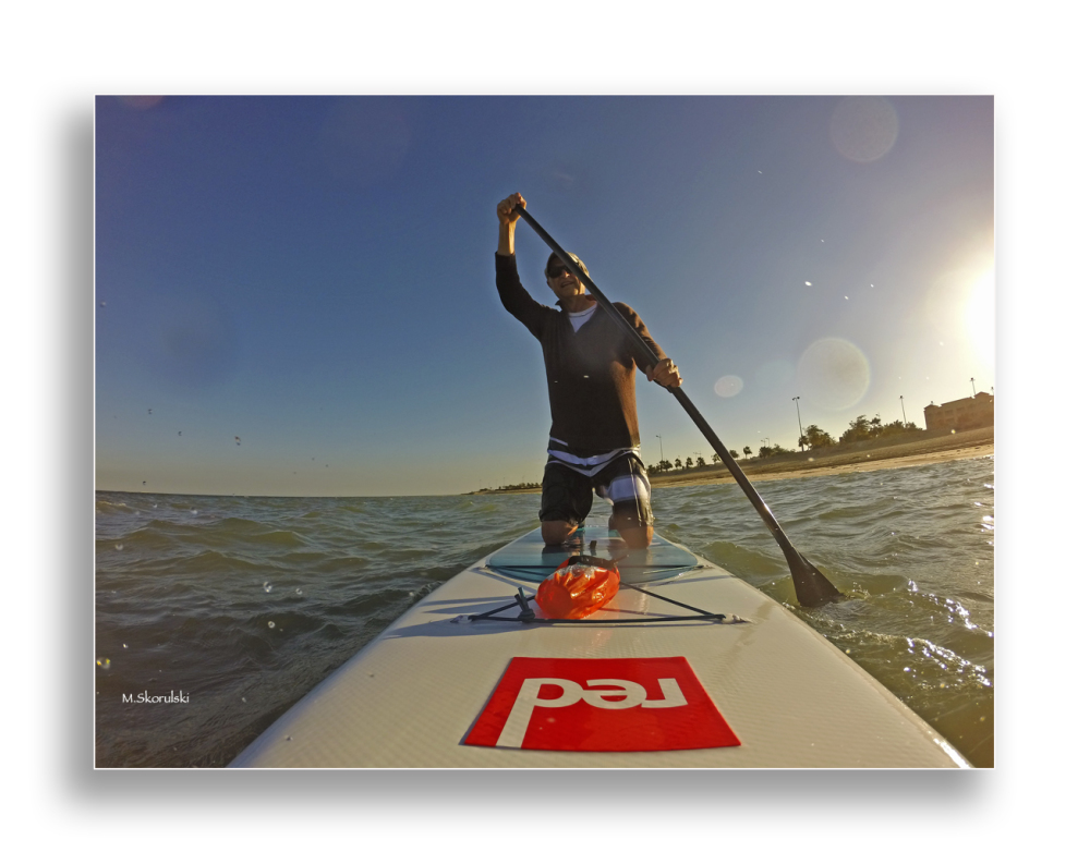 Safe - Wet selfie on SUP 3