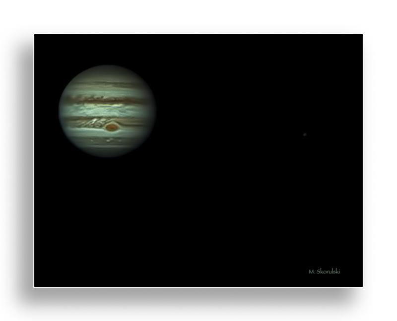 Jupiter from 588 million kilometers