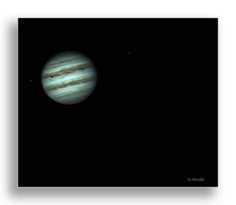 Jupiter and Moon Shadow