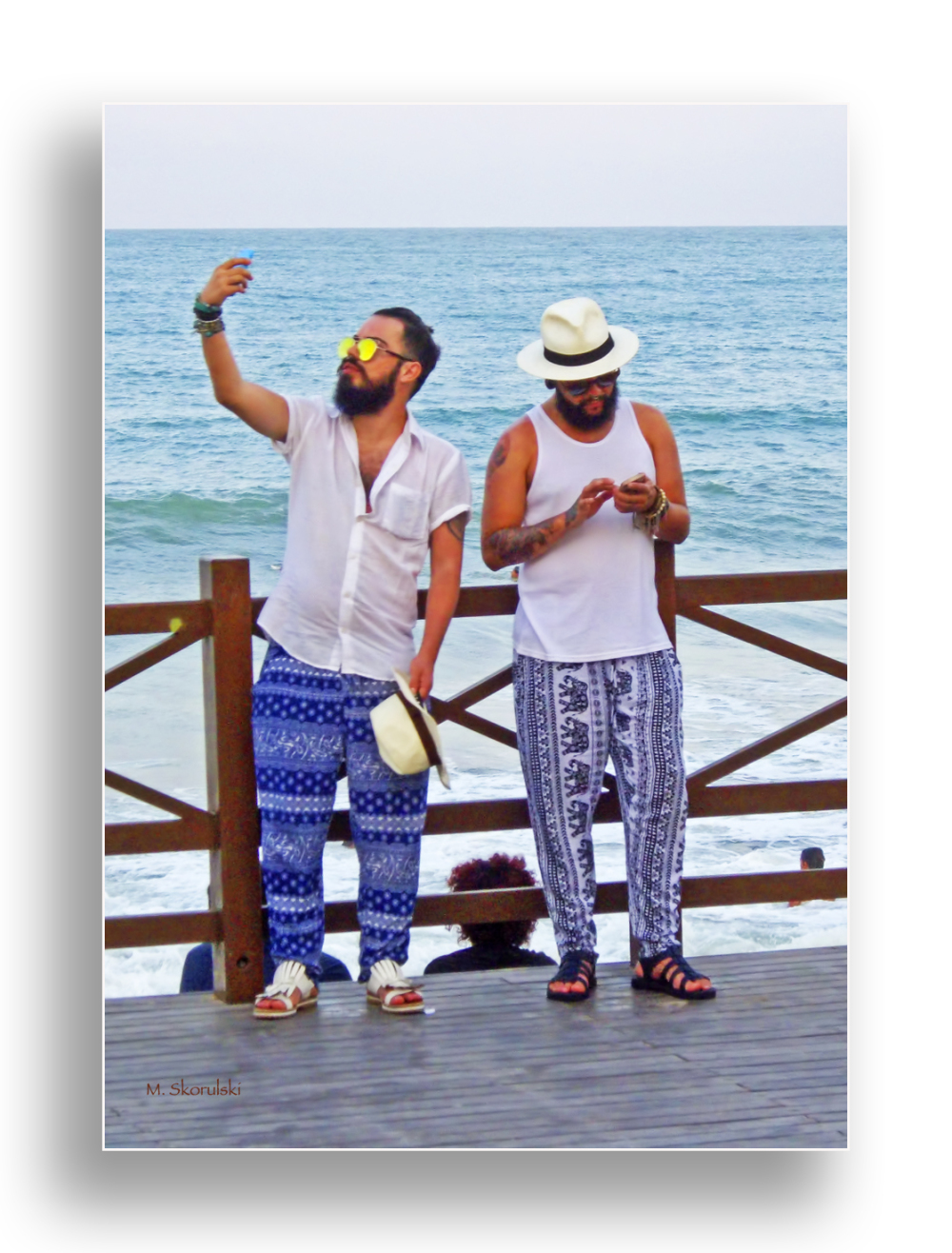 Brazilian Beach Selfie