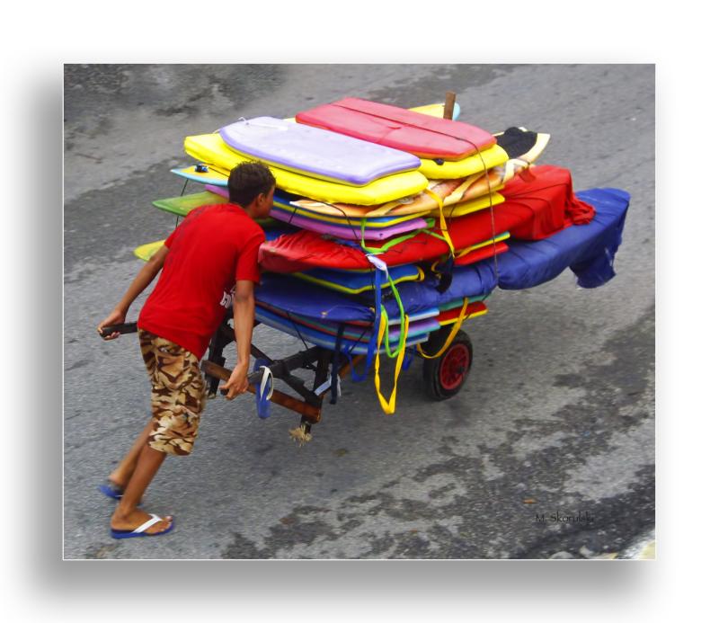 Brazilian Beach Board Renter