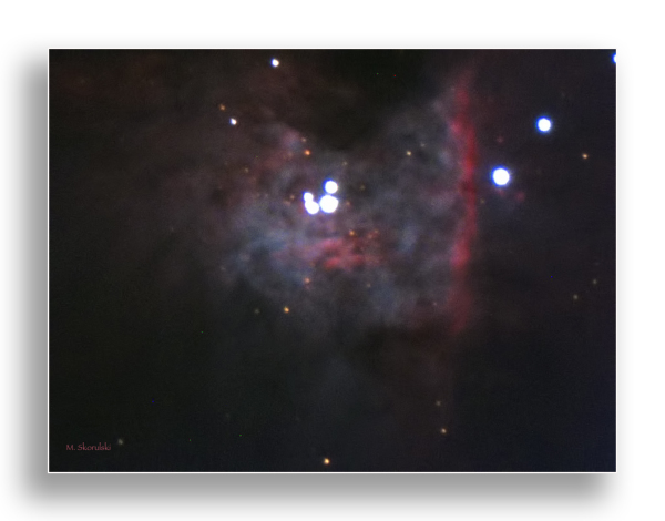 Orion Nebula - 1300 light years away