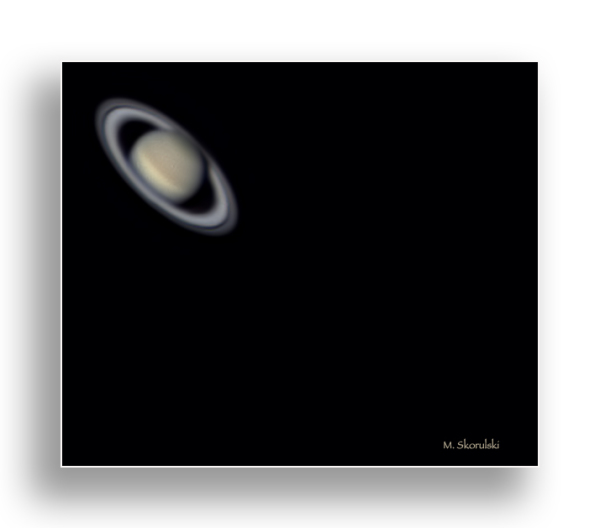 Saturn from 1.5 billion kilometres away