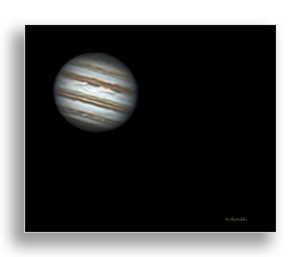 Jupiter from Yesterday Night
