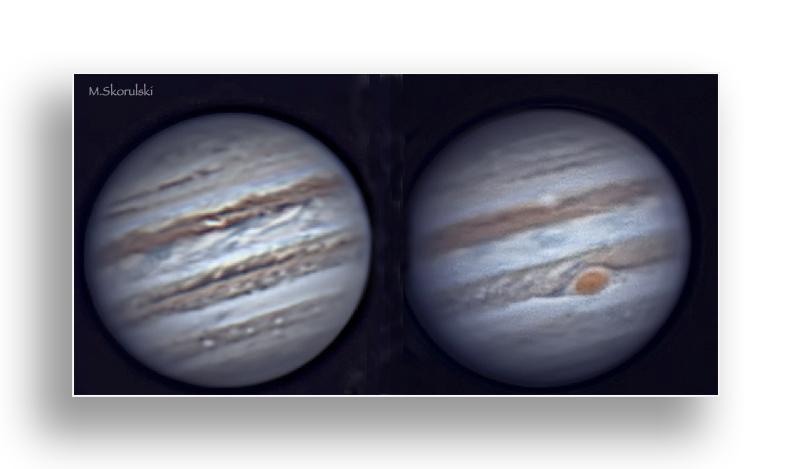 Flip Sides of Jupiter