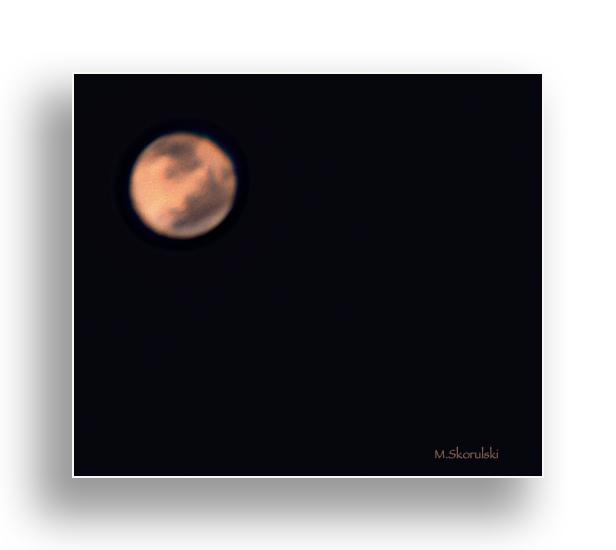The planet, Mars