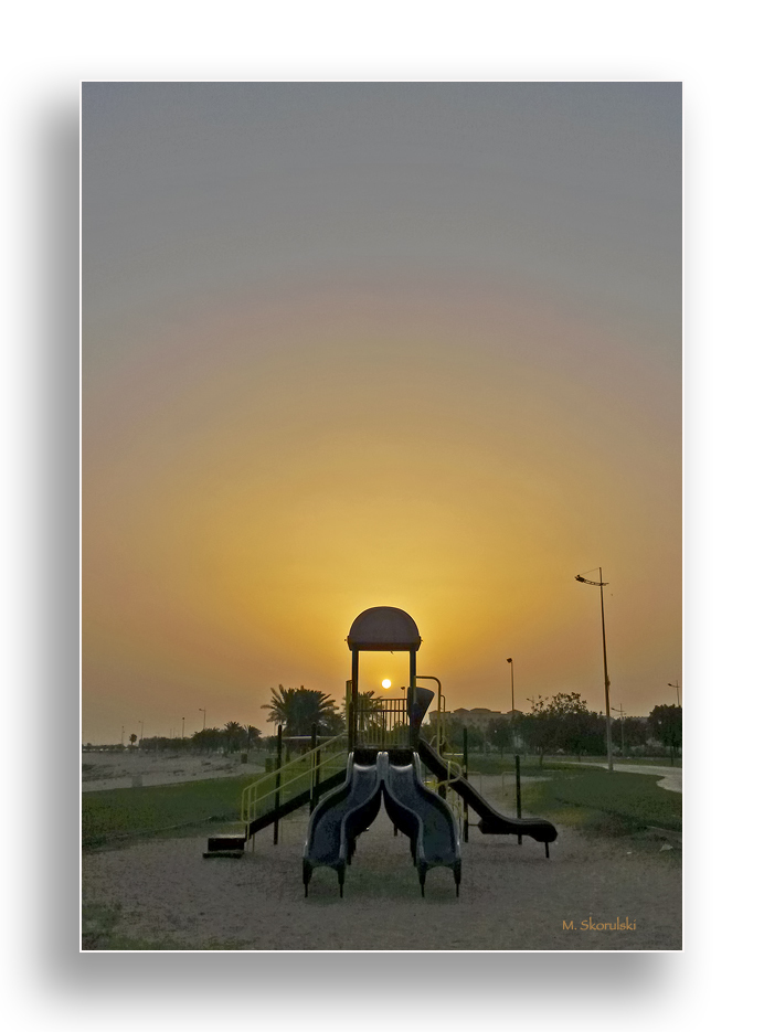 Sunrise at the Playground