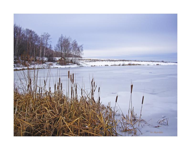 Frozen Mountain Pond