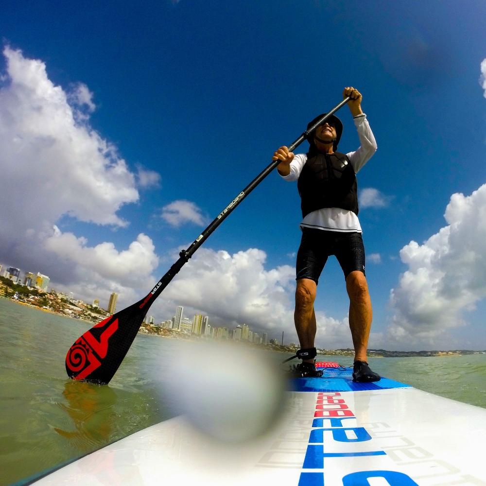 Paddle Boarding (self portrait) / (autoportrait)