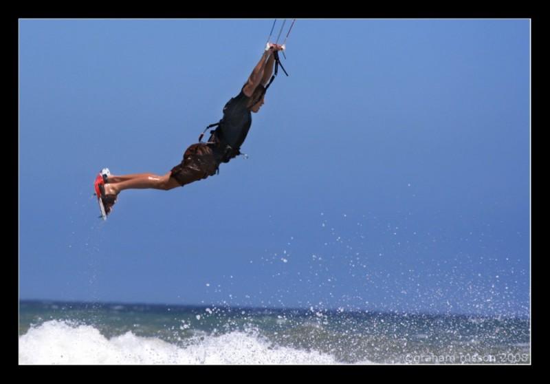 Kiteboarding Blaauberg Beach
