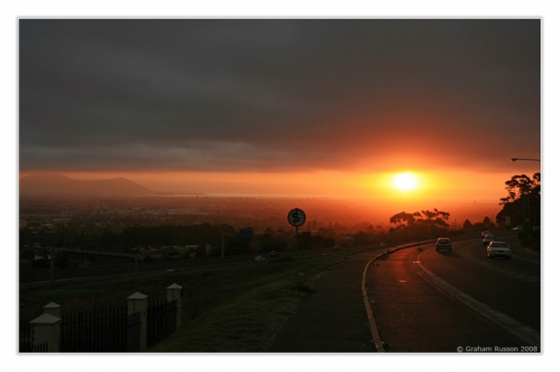 Plattekloof Sunset