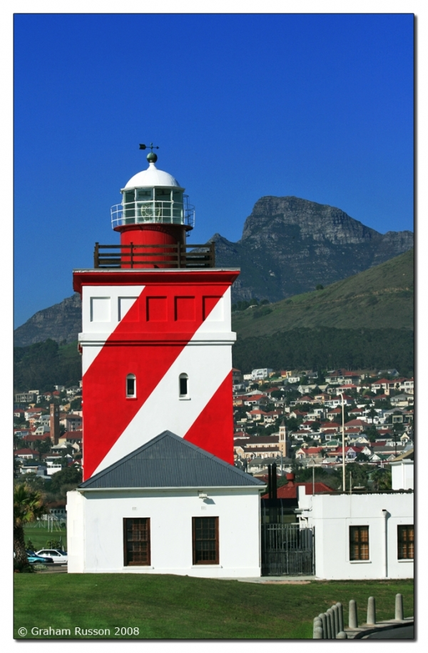 Mouille Point LIghthouse Sea Point Cape Town