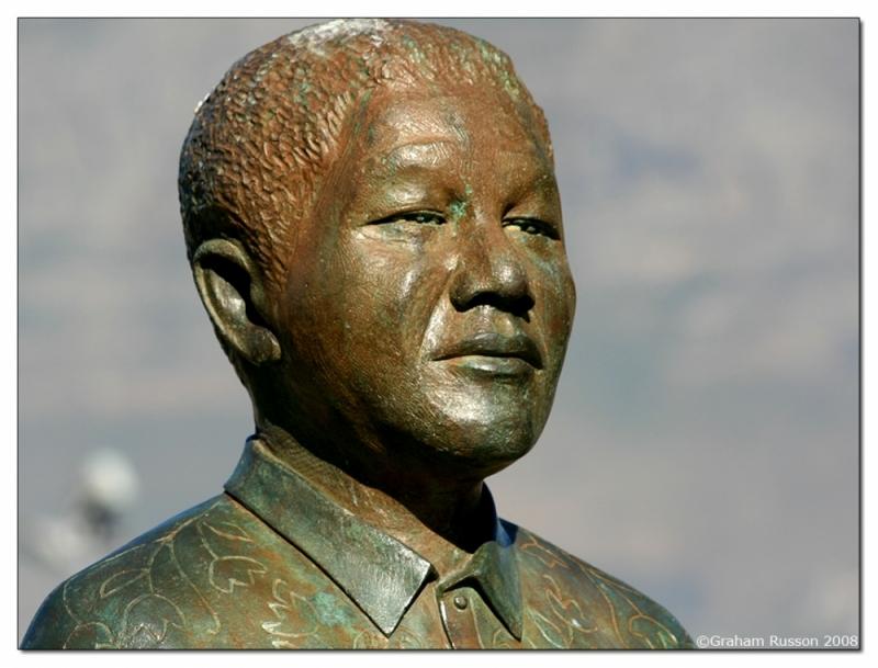 Nelson Mandela Birthday statue