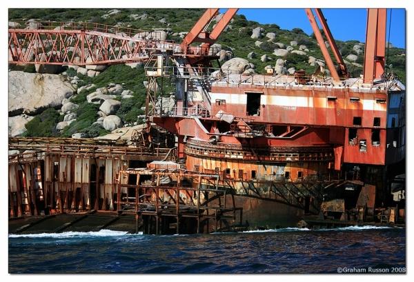 hout bay american shipwreck